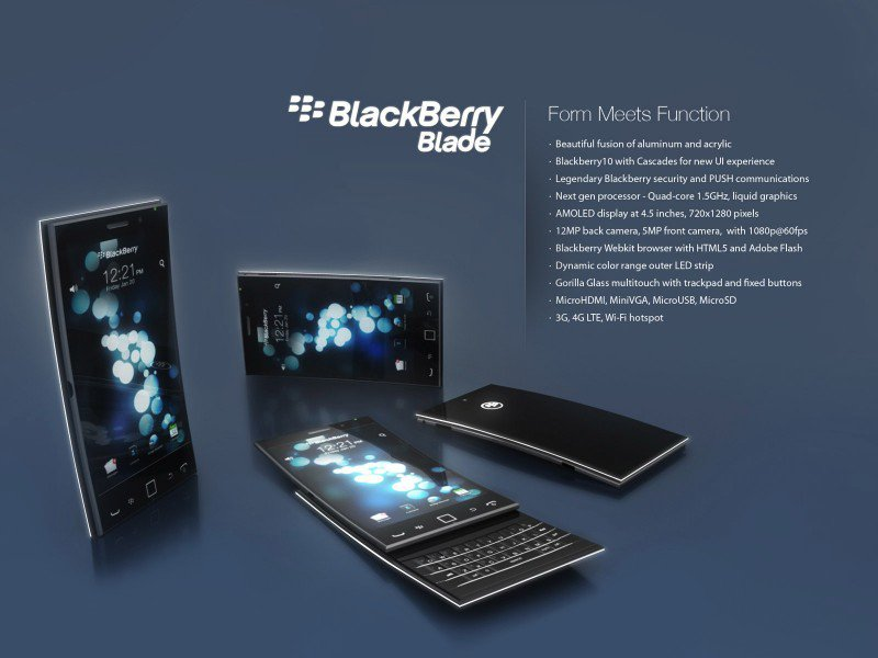 Концепт BlackBerry Blade