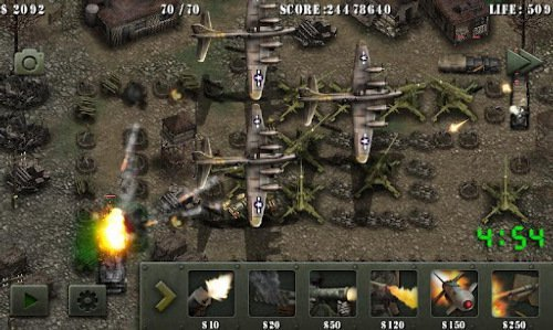 Soldiers of Glory: World War 2 - скриншот игры 1