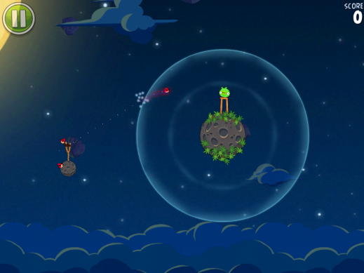 Angry Birds Space для android скриншот 2